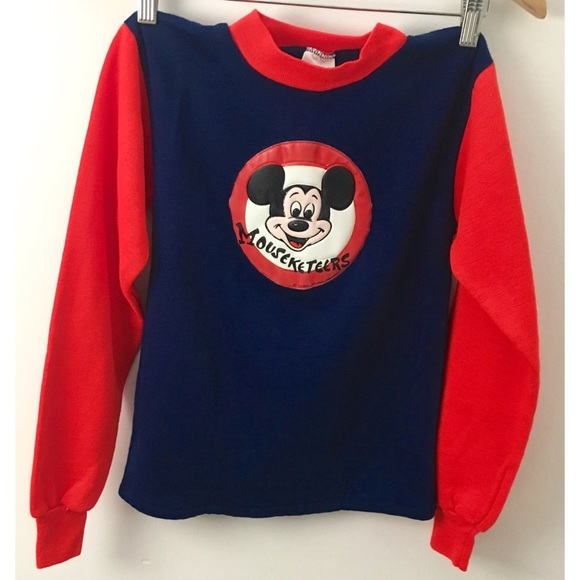 278a5e65 Vintage Shirts & Tops | 60s Mickey Mouse Club Sweatshirt | Poshmark